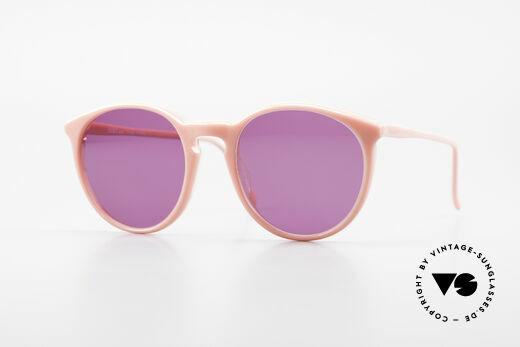 Alain Mikli 901 / 081 Panto Sunglasses Purple Pink Details