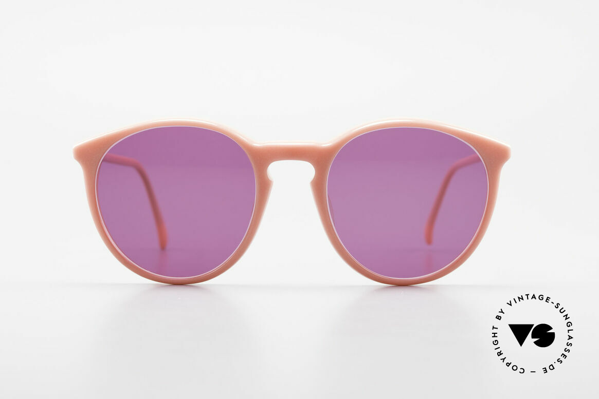 Alain Mikli 901 / 081 Panto Sunglasses Purple Pink, classic 'panto'-design; purple sun lenses, 100% UV, Made for Women