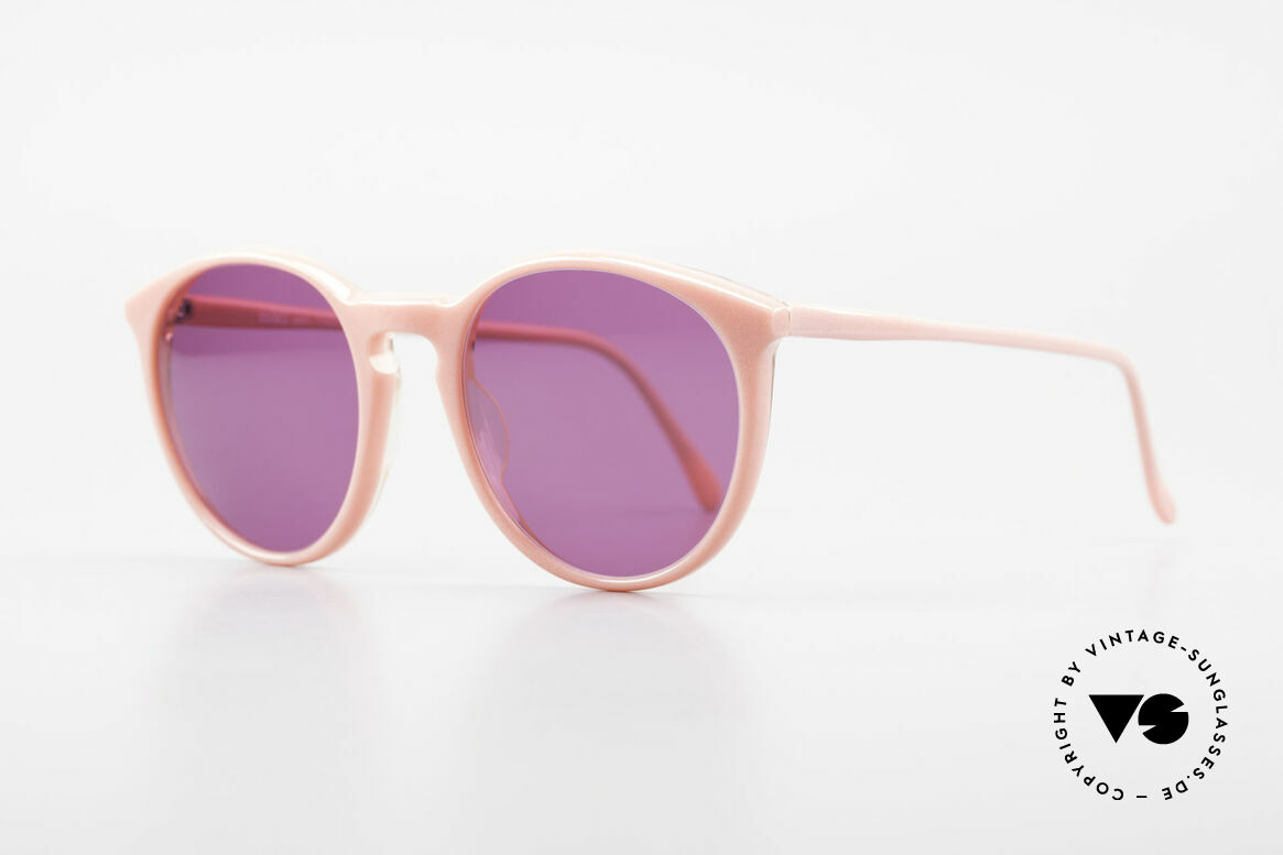 Alain Mikli 901 / 081 Panto Sunglasses Purple Pink, lovely color combination for ladies in purple pink, Made for Women