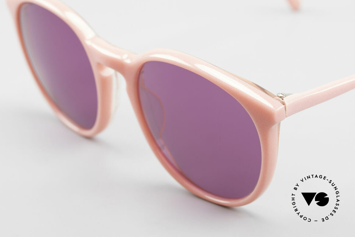 Alain Mikli 901 / 081 Panto Sunglasses Purple Pink, handmade quality and 123mm width = SMALL size!, Made for Women