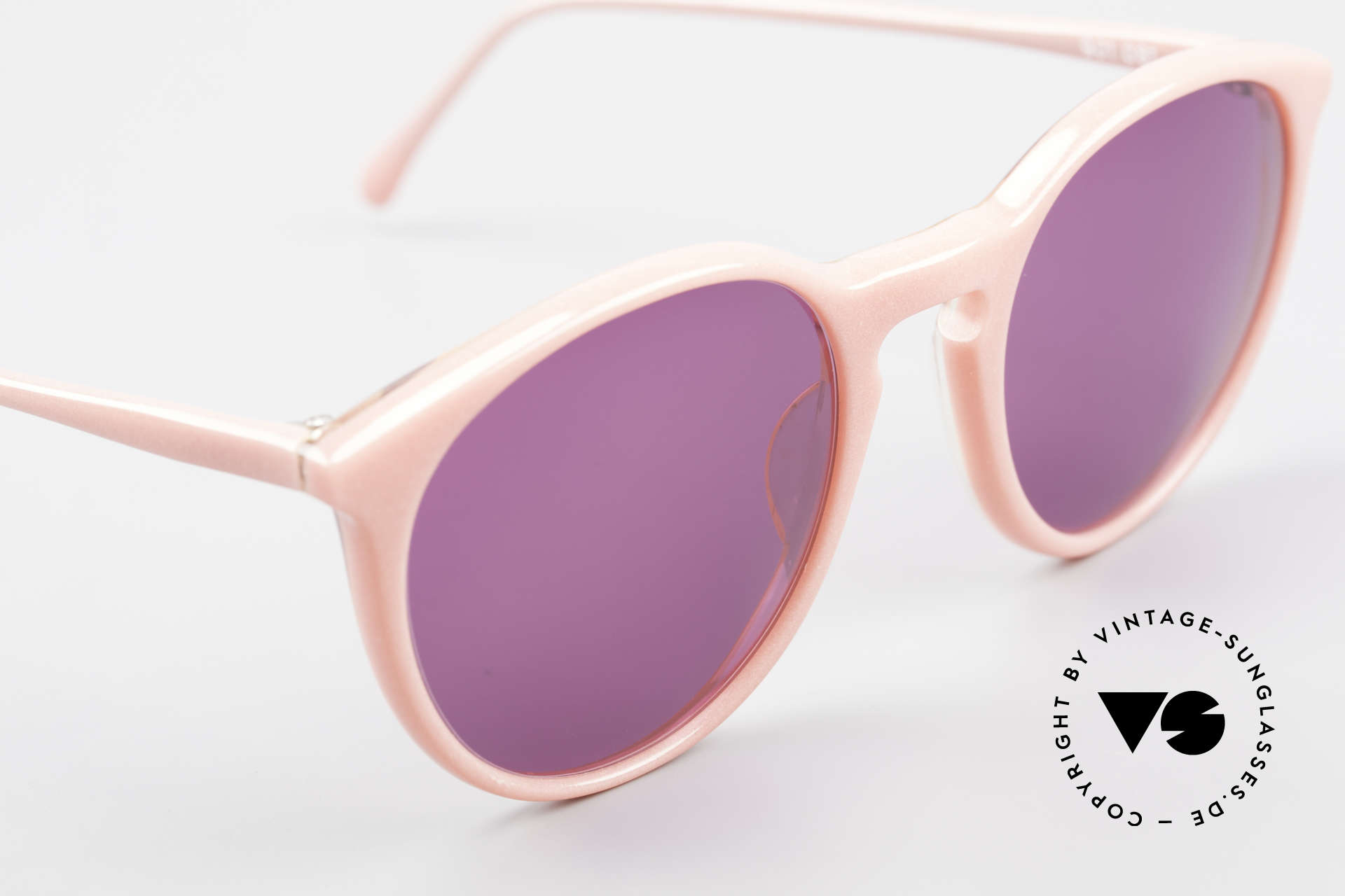 Alain Mikli 901 / 081 Panto Sunglasses Purple Pink, never worn (like all our vintage Alain Mikli specs), Made for Women