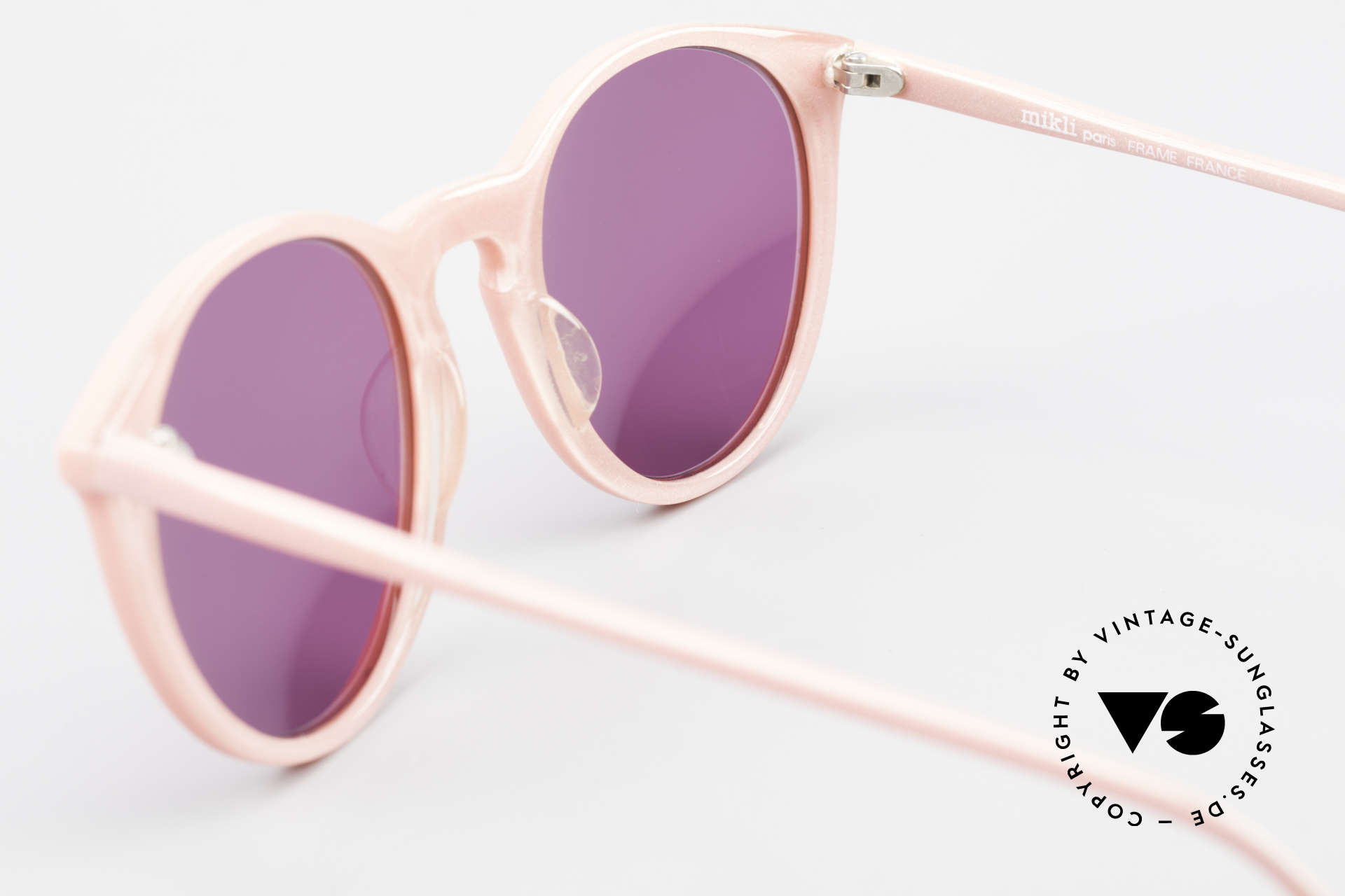 Alain Mikli 901 / 081 Panto Sunglasses Purple Pink, NO RETRO shades, but an old ORIGINAL from 1989, Made for Women