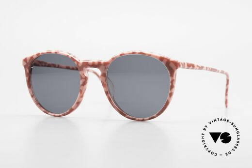 Alain Mikli 901 / 172 Panto Frame Red Pink Marbled Details