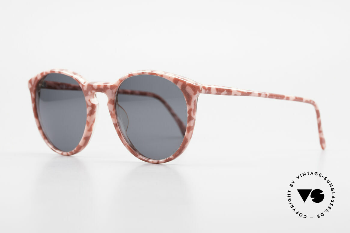 Alain Mikli 901 / 172 Panto Frame Red Pink Marbled, terrific frame pattern: ruby-colored/pink marbled, Made for Women