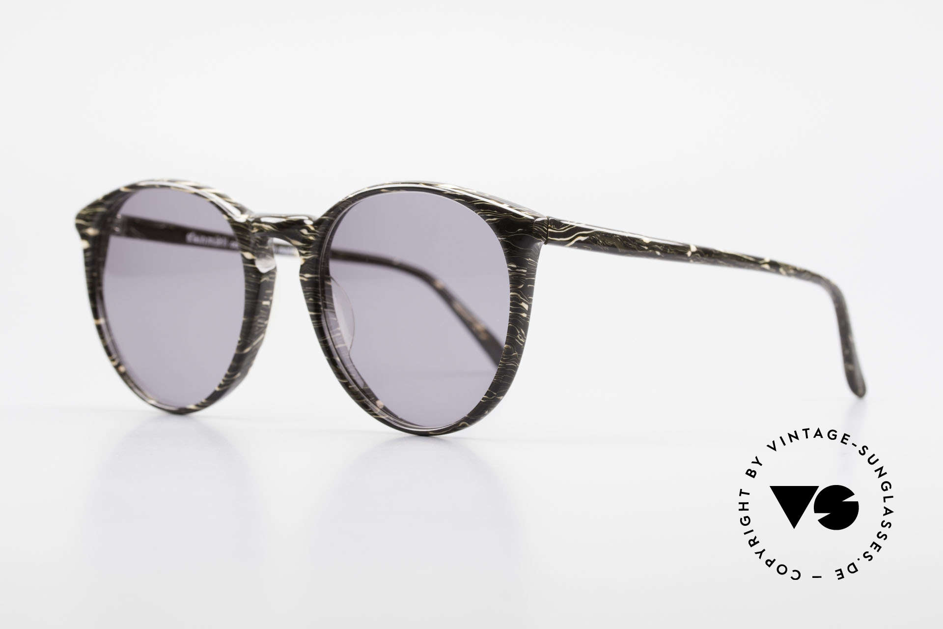Alain Mikli 901 / 429 Brown Marbled Panto Frame, interesting frame pattern: brown / gray marbled, Made for Men and Women