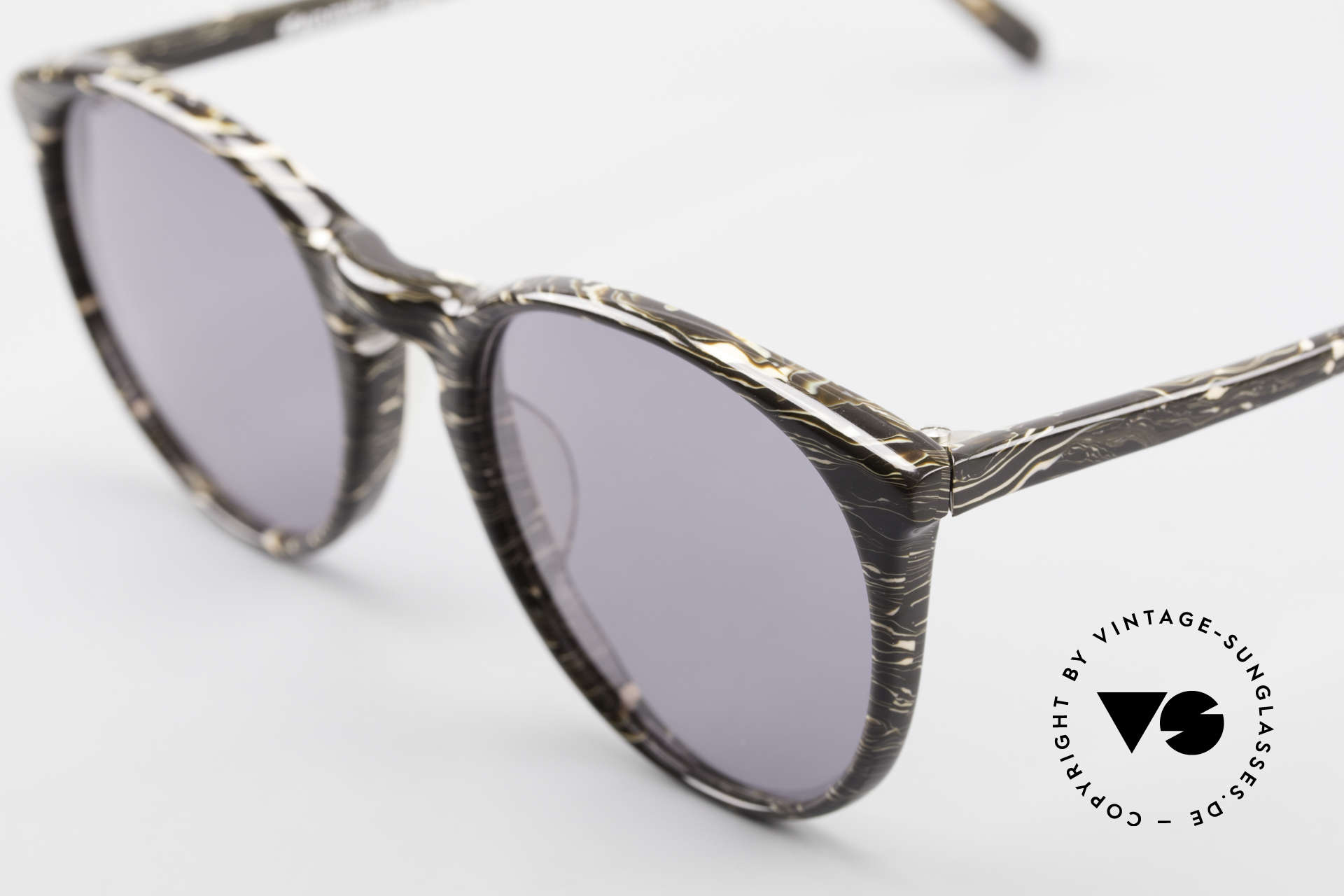 Alain Mikli 901 / 429 Brown Marbled Panto Frame, handmade quality and 123mm width = SMALL size, Made for Men and Women