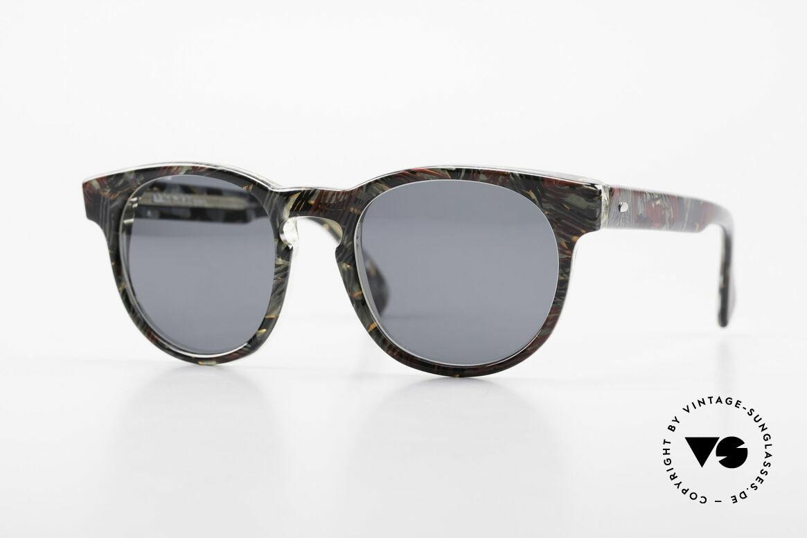 Alain Mikli 903 / 685 Panto Frame Gray Patterned, timeless vintage Alain Mikli designer sunglasses, Made for Men and Women