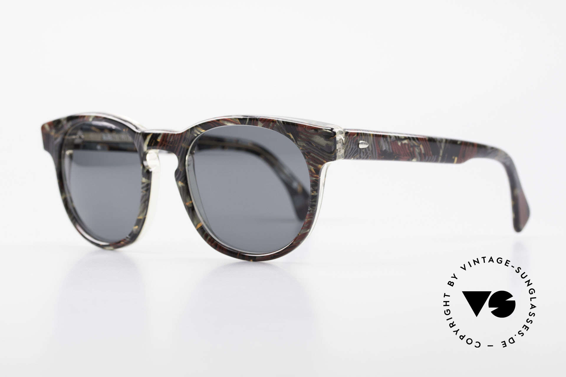 Alain Mikli 903 / 685 Panto Frame Gray Patterned, inspired by the 1960's 'Tart Optical Arnel' frames, Made for Men and Women