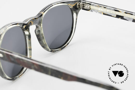 Alain Mikli 903 / 685 Panto Frame Gray Patterned, NO RETRO shades, but an old ORIGINAL from 1989, Made for Men and Women