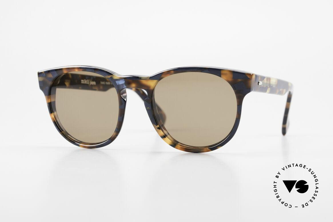 Alain Mikli 6903 / 622 XS Panto Frame Marbled Brown, timeless vintage Alain Mikli designer sunglasses, Made for Men and Women