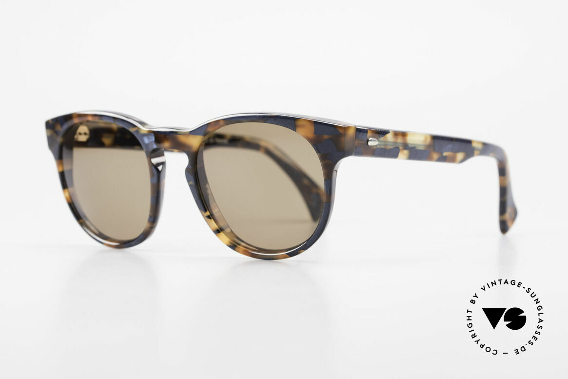 Alain Mikli 6903 / 622 XS Panto Frame Marbled Brown, inspired by the 1960's 'Tart Optical Arnel' frames, Made for Men and Women