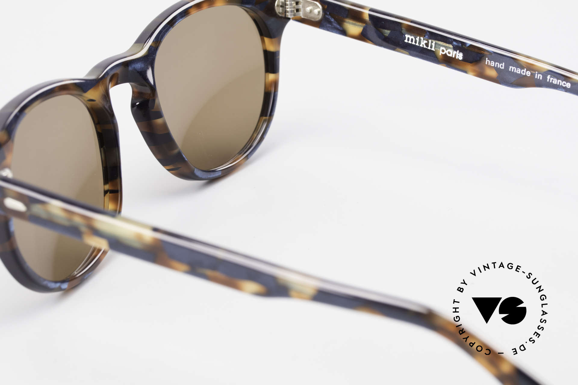 Alain Mikli 6903 / 622 XS Panto Frame Marbled Brown, NO RETRO shades, but an old ORIGINAL from 1989, Made for Men and Women