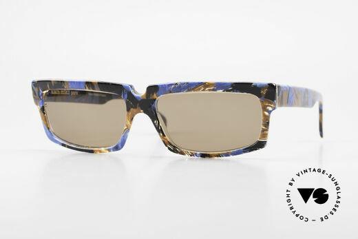 Alain Mikli 706 / 395 XL 80's Designer Sunglasses Details