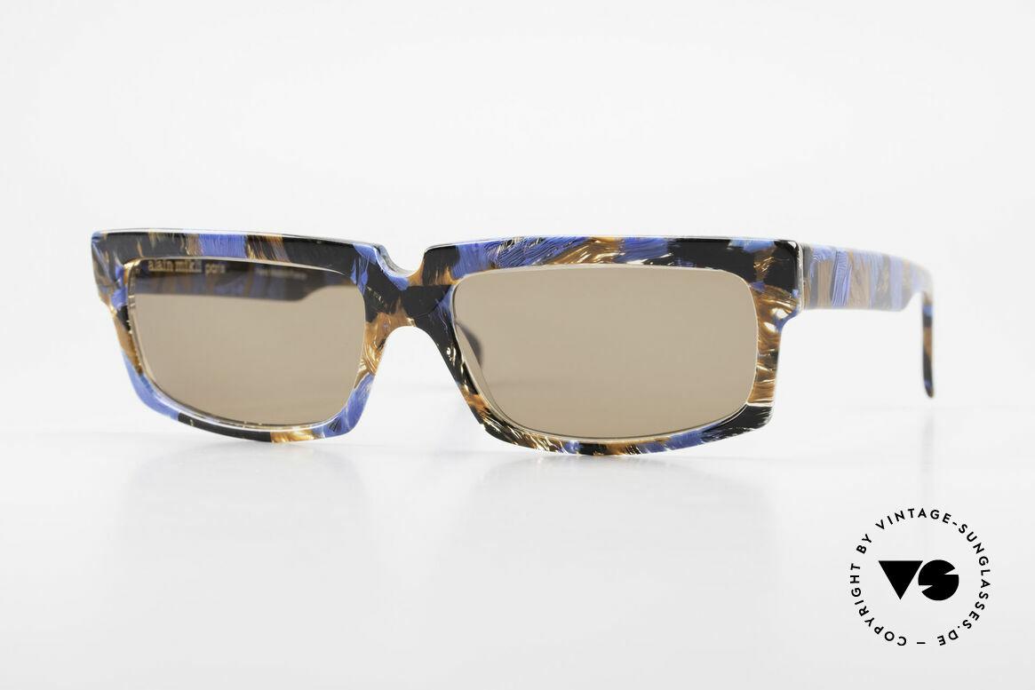 Alain Mikli 706 / 395 XL 80's Designer Sunglasses, X-LARGE vintage Alain Mikli designer sunglasses, Made for Men