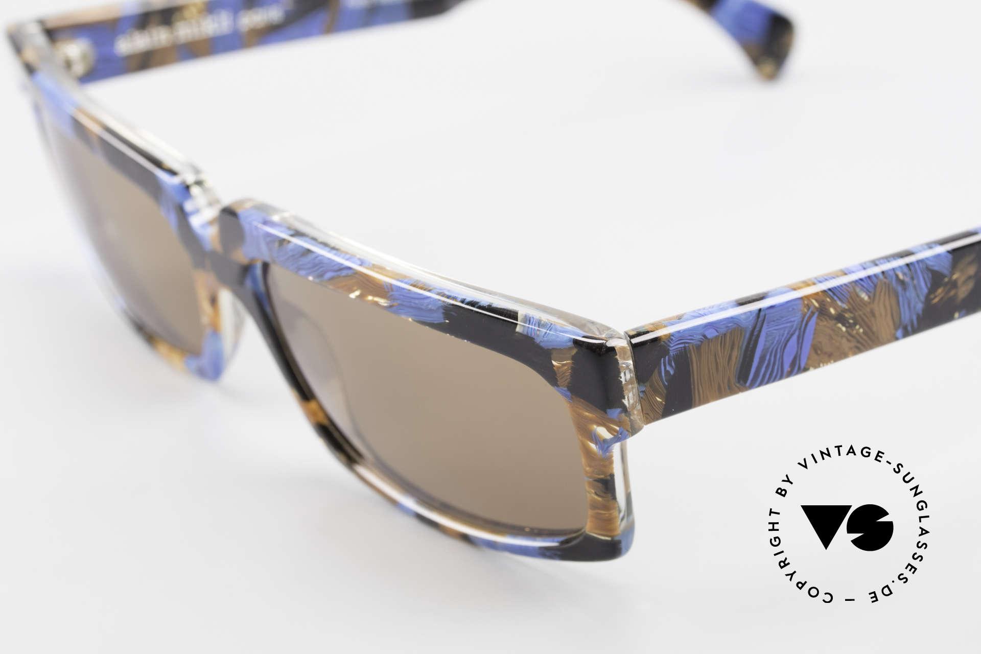 Alain Mikli 706 / 395 XL 80's Designer Sunglasses, never worn (like all our vintage Alain Mikli specs), Made for Men