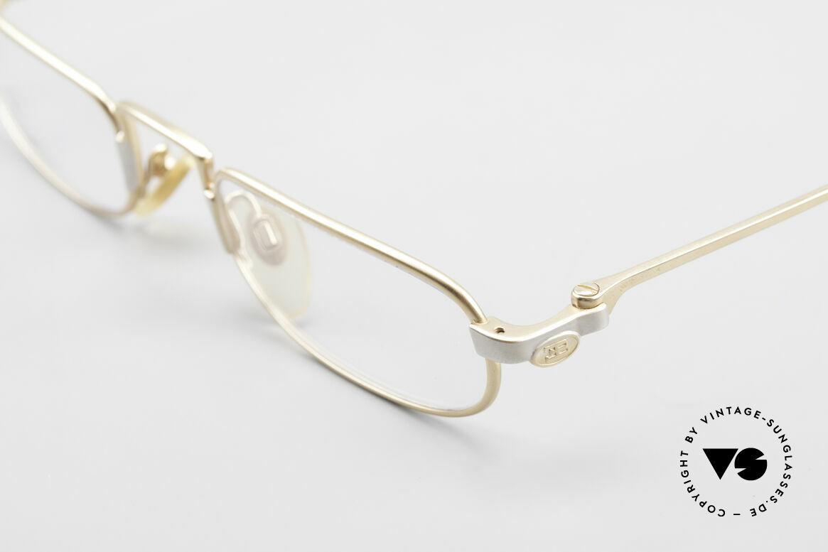 Bugatti EB606 Luxury Reading Glasses 90's, unworn (like all our rare vintage Bugatti eyeglasses), Made for Men
