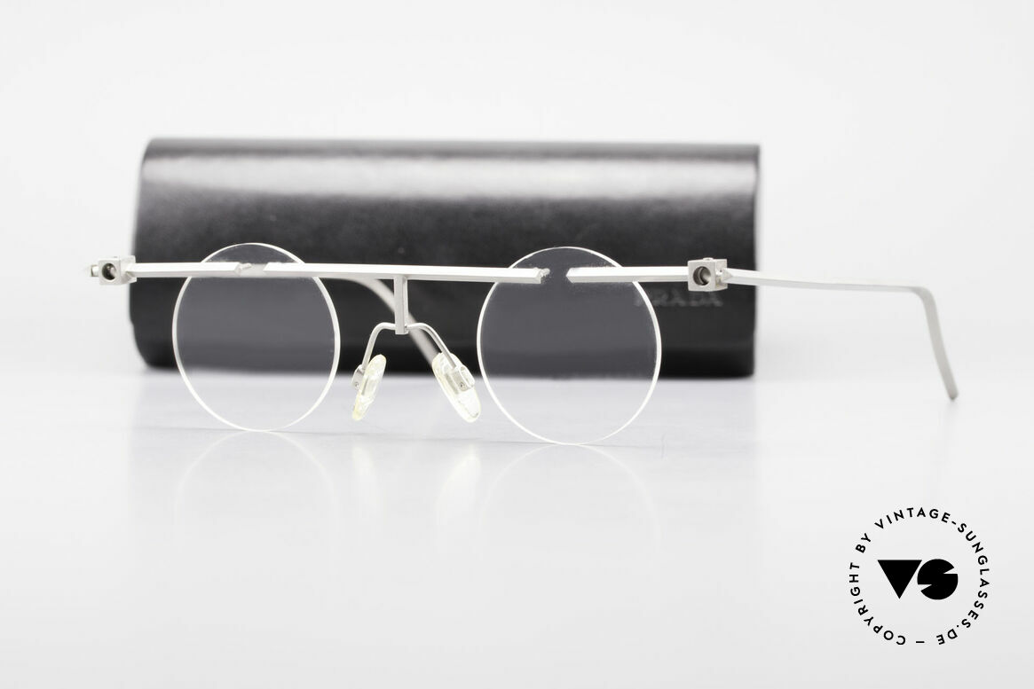 "B. Angeletti Sammlerstück Bauhaus Frame Limited Edition, means: ""collector's item with ball joint"" No. 31 of 99, Made for Men and Women"