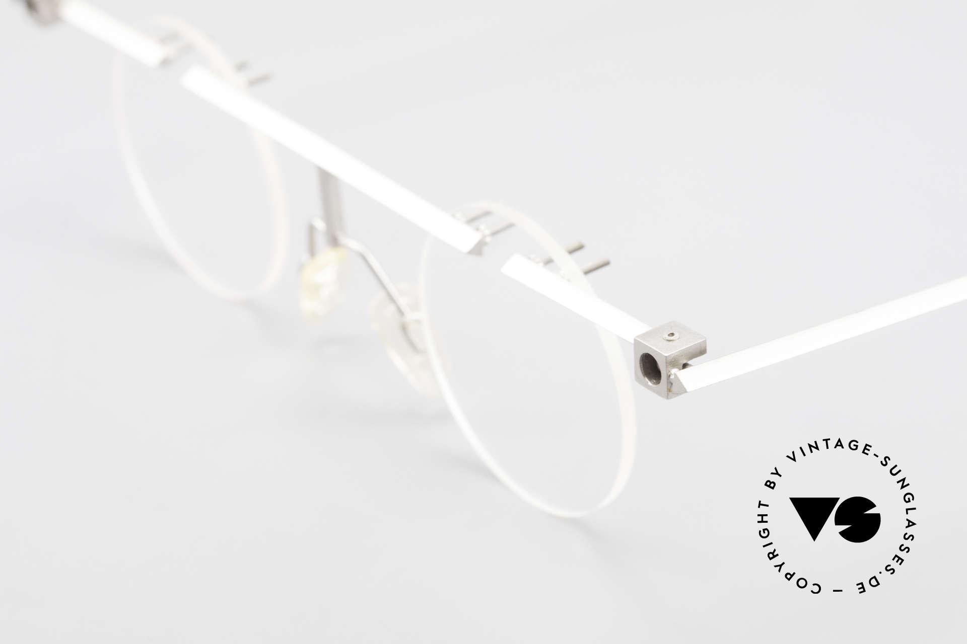 B. Angeletti Sammlerstück Bauhaus Frame Limited Edition, never been worn; made for optical lenses or sun lenses, Made for Men and Women