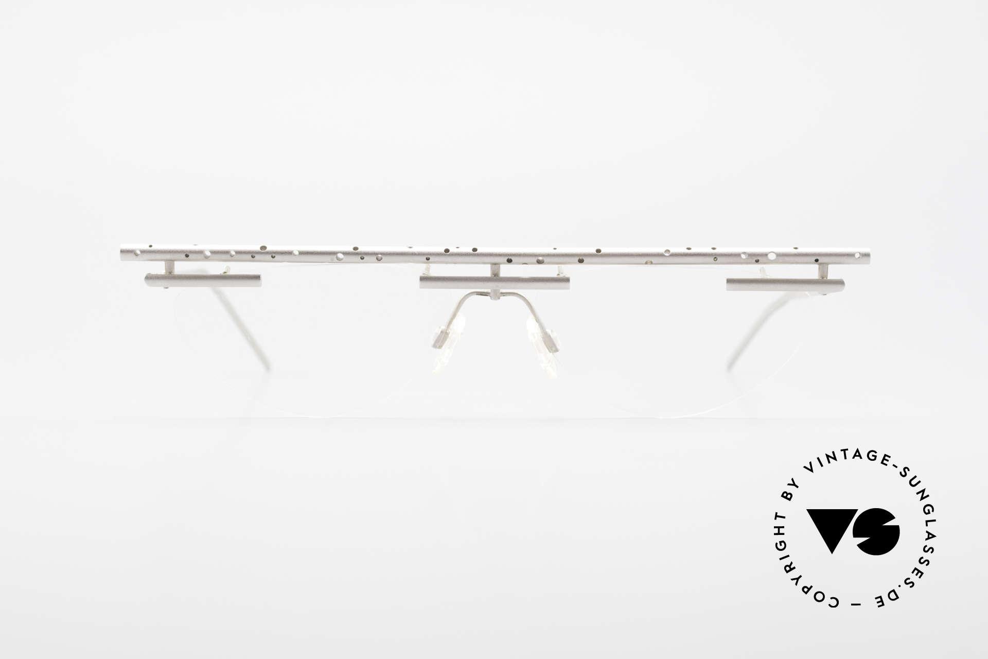 B. Angeletti Gazelle Vintage Architect's Glasses, designer frame (inspired by architect Marcel Breuer), Made for Men and Women