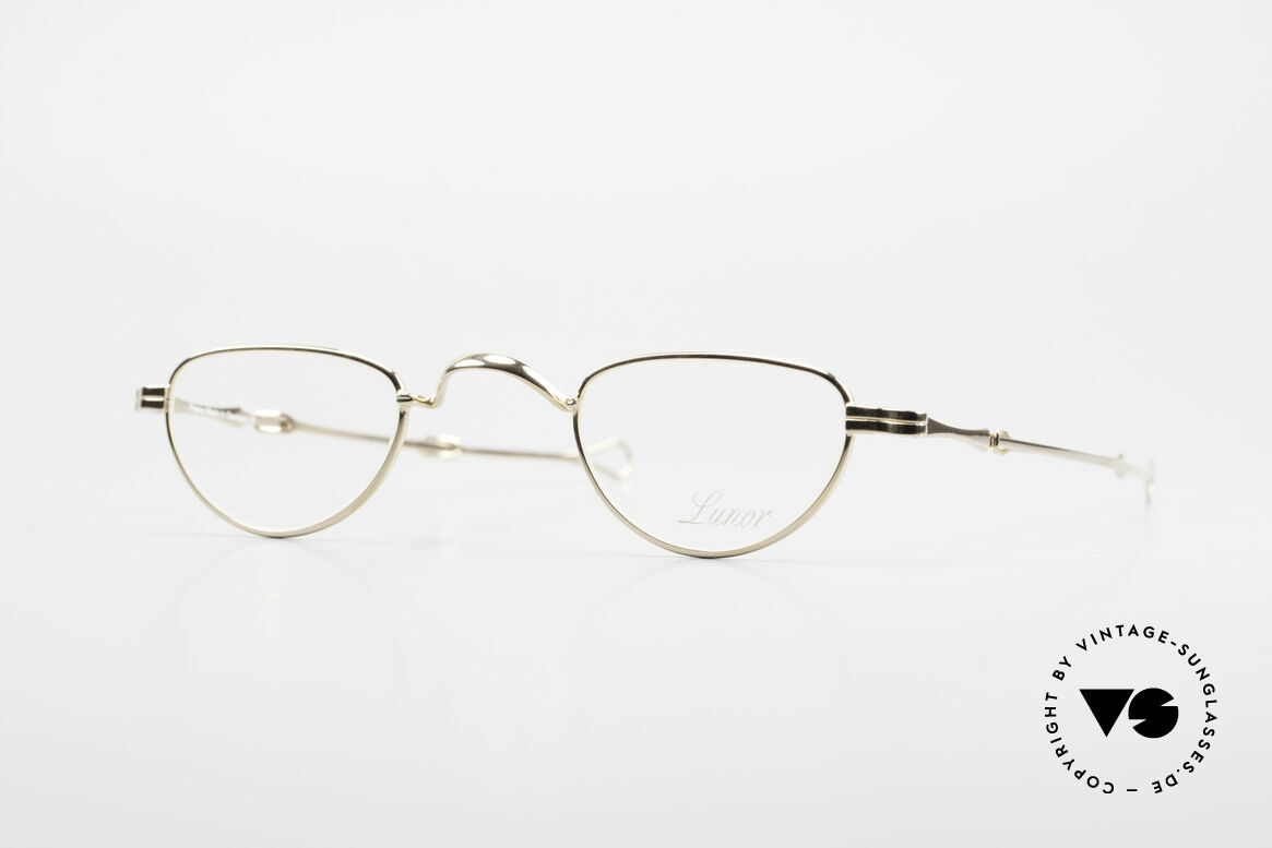 """Lunor - Telescopic Extendable Reading Glasses, Lunor: shortcut for French """"Lunette d'Or"""" (gold glasses), Made for Men and Women"""