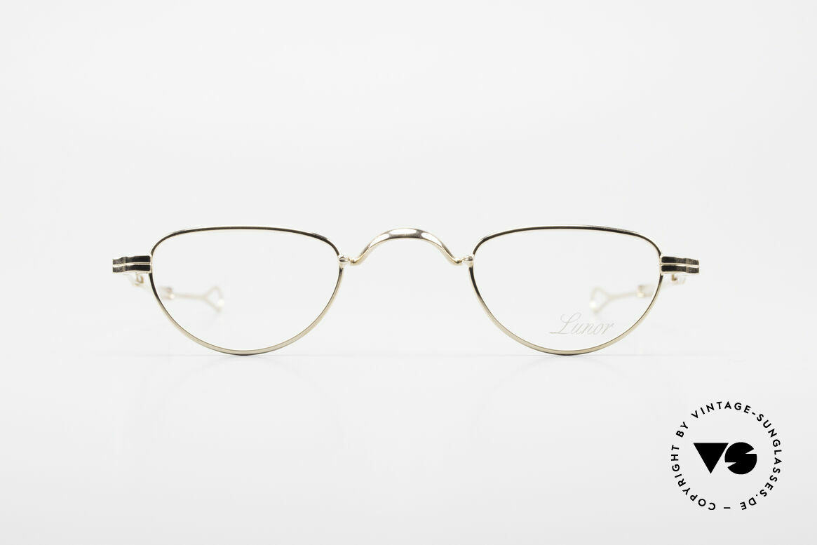 Lunor - Telescopic Extendable Reading Glasses, traditional German brand; quality handmade in Germany, Made for Men and Women