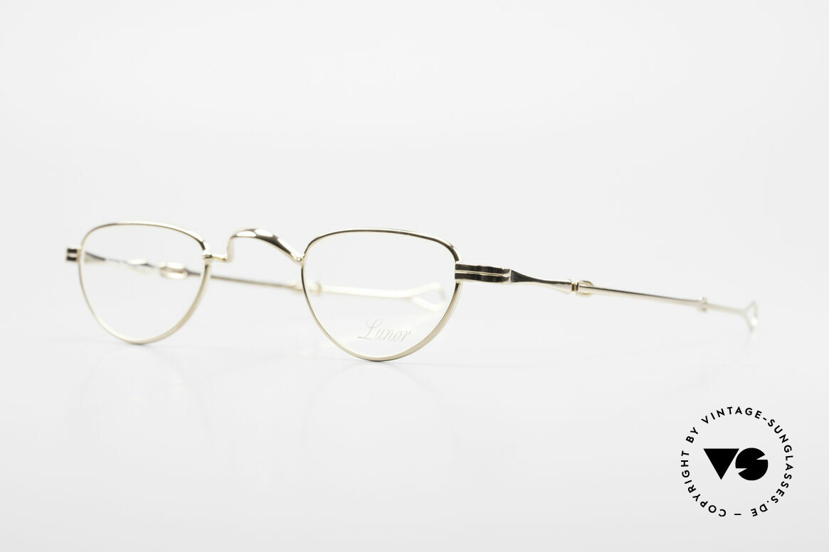 """Lunor - Telescopic Extendable Reading Glasses, well-known for the """"W-bridge"""" & the plain frame designs, Made for Men and Women"""