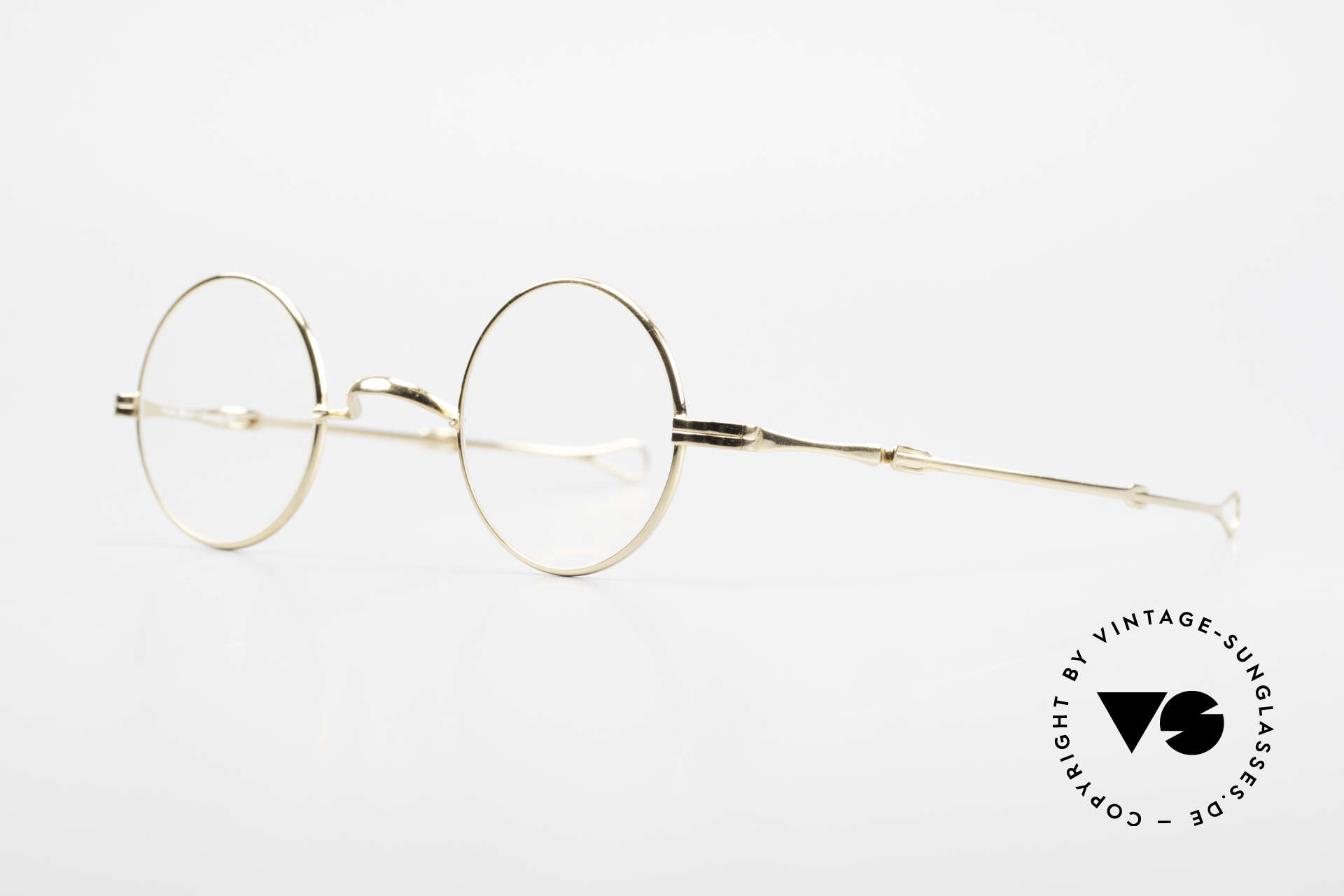 "Lunor - Telescopic Extendable Vintage Frame, well-known for the ""W-bridge"" & the plain frame designs, Made for Men and Women"