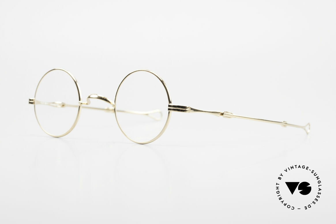 "Lunor I 12 Telescopic Extendable Vintage Frame, well-known for the ""W-bridge"" & the plain frame designs, Made for Men and Women"