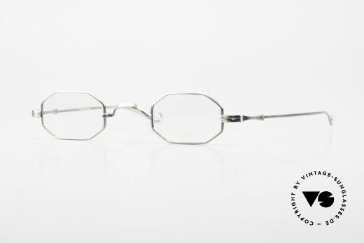 Lunor Octag Octagonal Vintage Eyeglasses Details