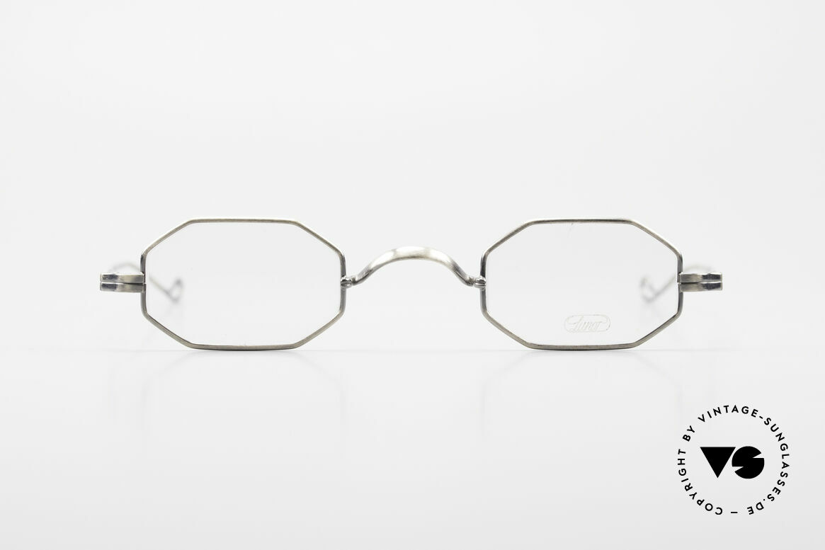 """Lunor Octag Octagonal Vintage Eyeglasses, Lunor: shortcut for French """"Lunette d'Or"""" (gold glasses), Made for Men and Women"""