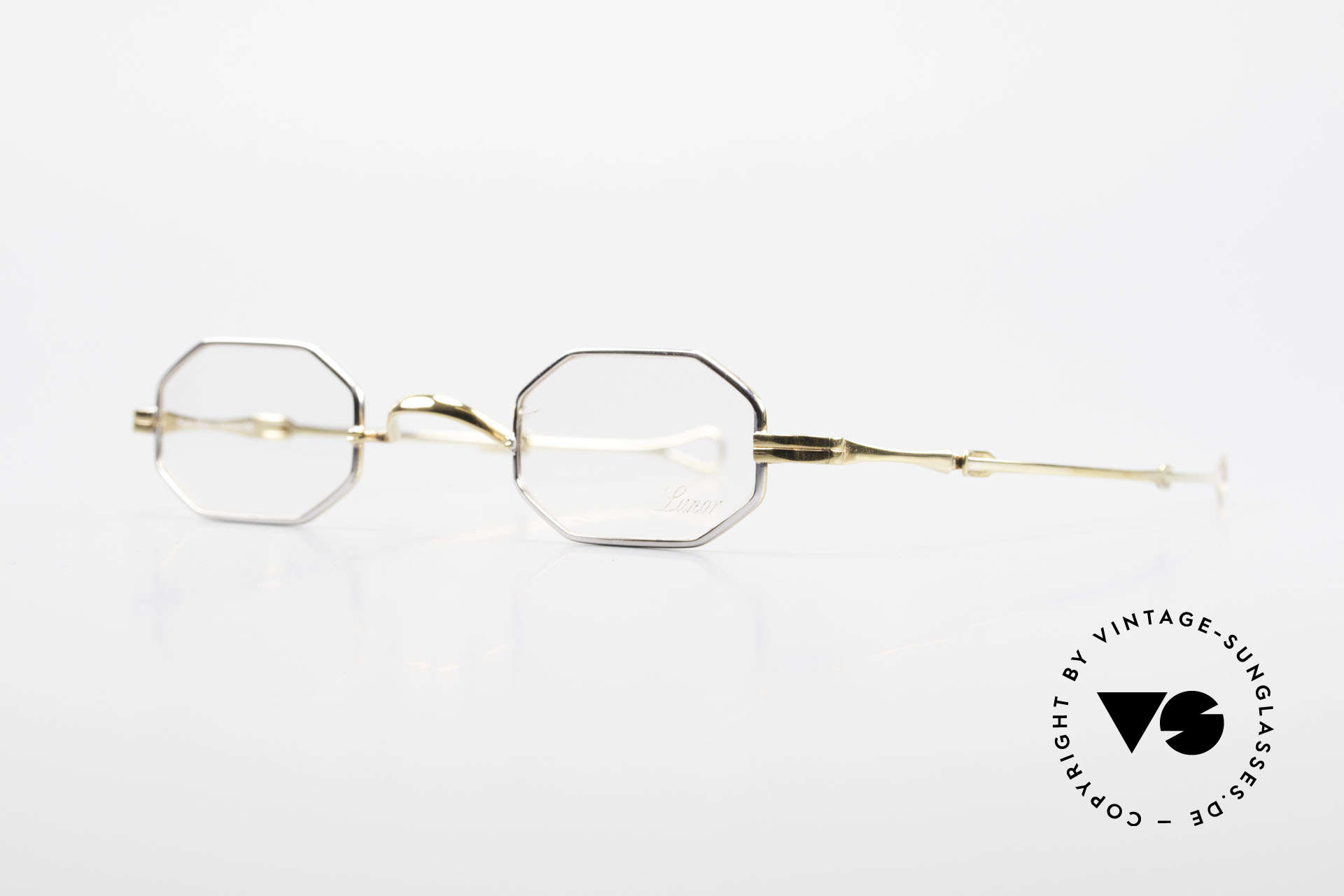 "Lunor - Telescopic Extendable Octagonal Frame, well-known for the ""W-bridge"" & the plain frame designs, Made for Men and Women"