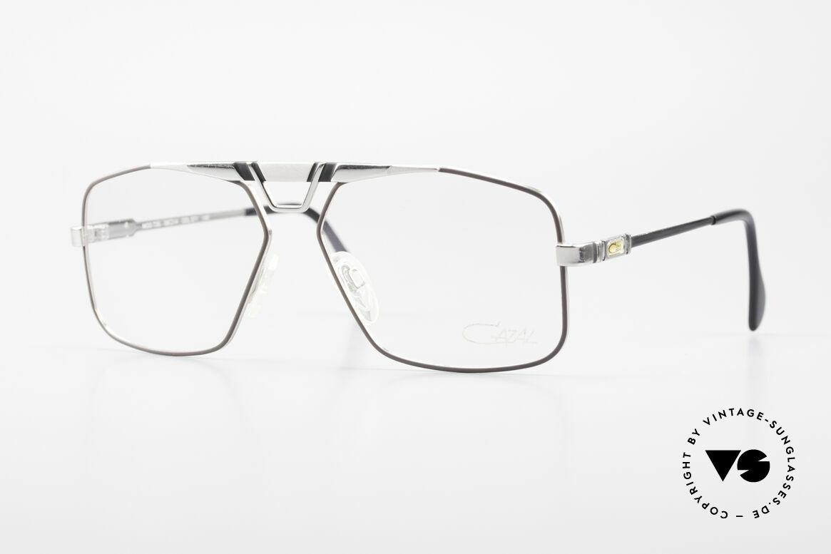 Cazal 735 Brad Pitt Glasses W Germany, masculine Cazal vintage eyeglass-frame from 1985, Made for Men