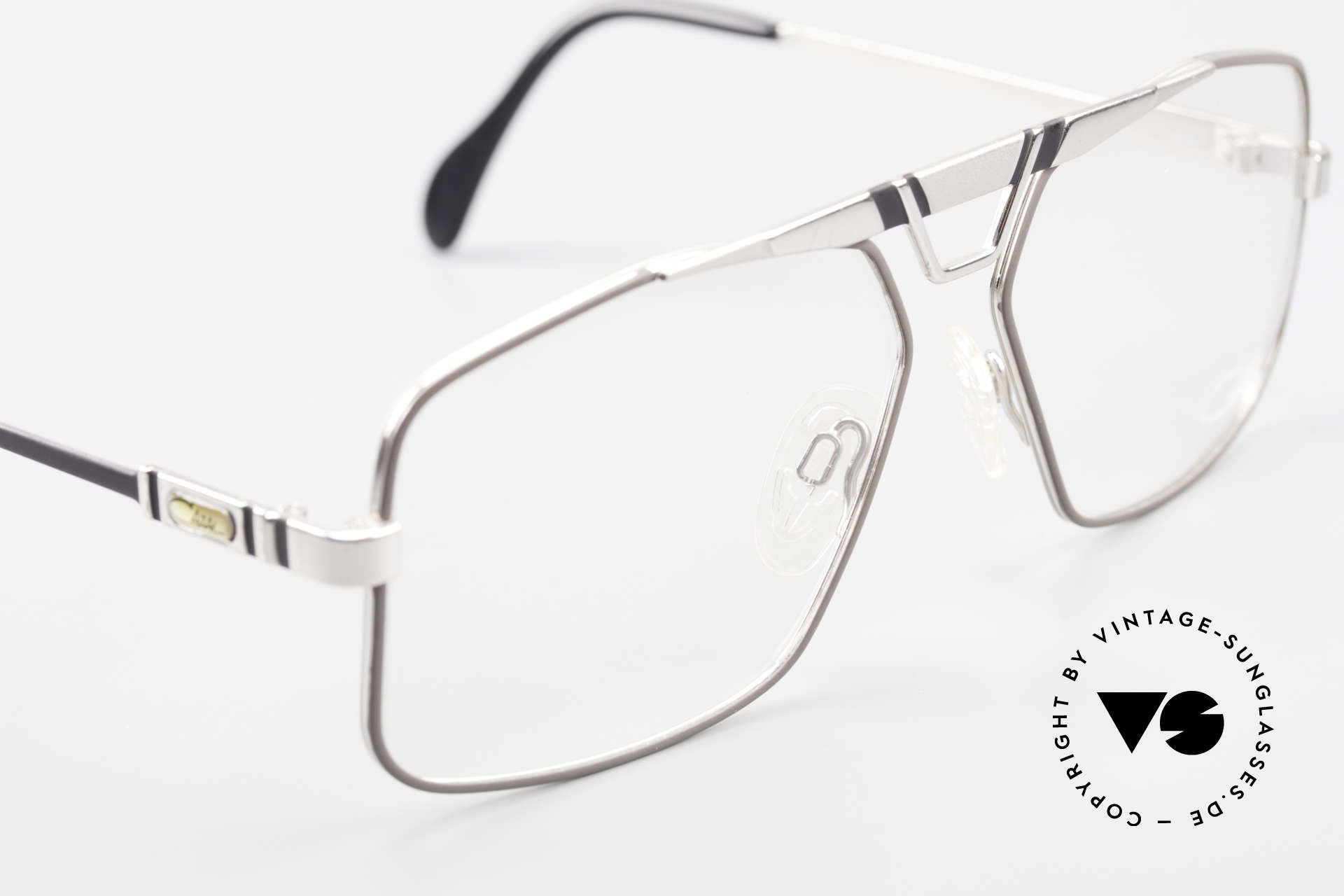 Cazal 735 Brad Pitt Glasses W Germany, NO retro fashion, but a unique 30 years old original, Made for Men