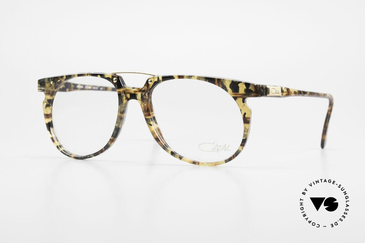 Cazal 645 Extraordinary Vintage Frame, rare vintage eyeglass-frame by Cazal from 1990/91, Made for Men
