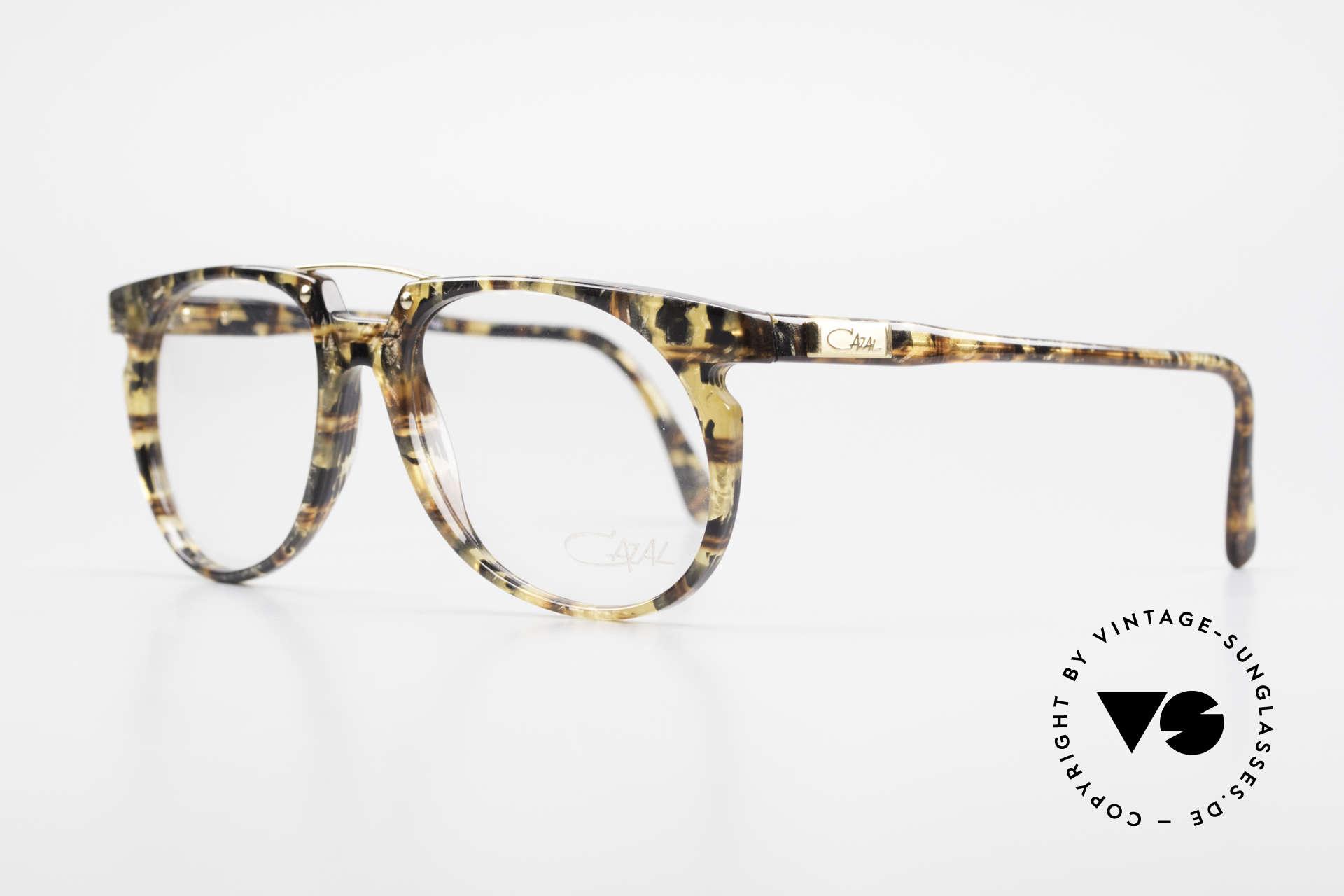 Cazal 645 Extraordinary Vintage Frame, great frame color / pattern (a kind of amber-gold), Made for Men
