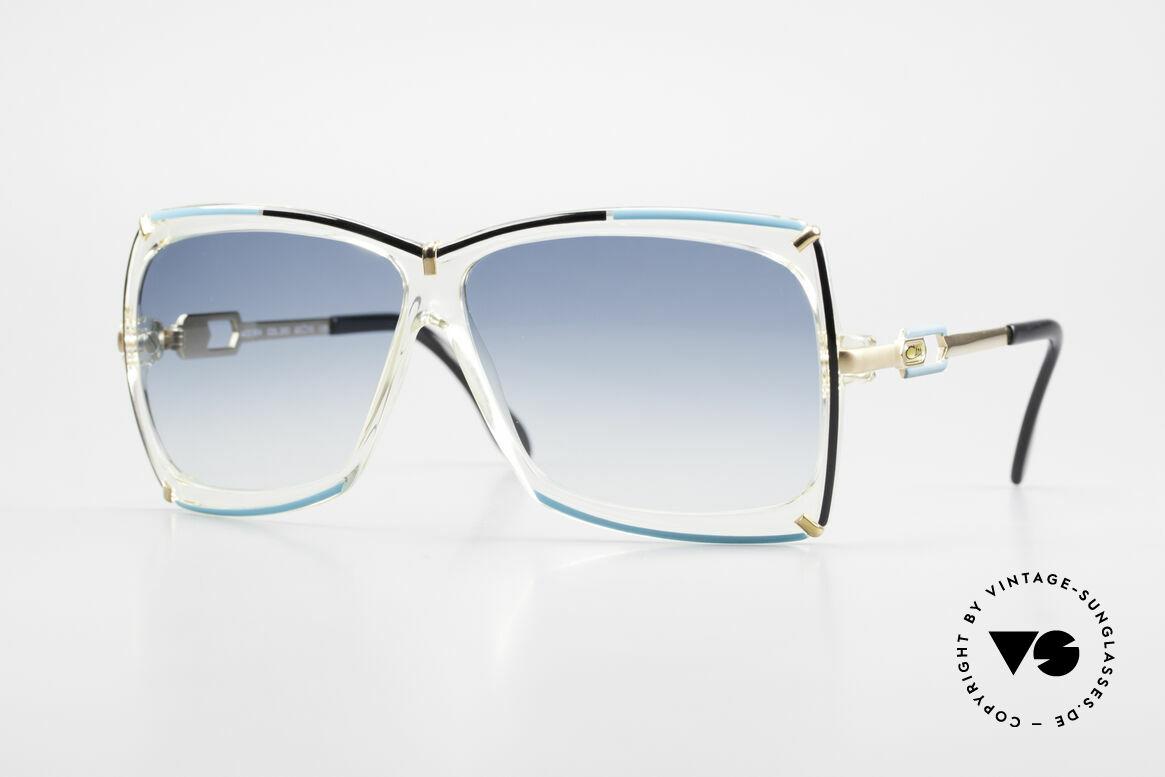 Cazal 864 Rare 80's Cazal XL Sunglasses, lovely designer shades by CAri ZALloni (CAZAL), Made for Women