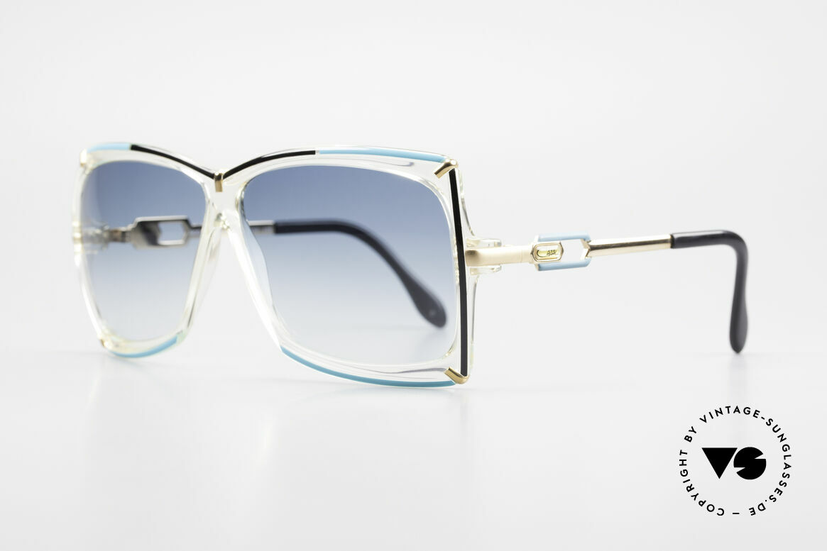 Cazal 864 Rare 80's Cazal XL Sunglasses, typically 1980's - more 'VINTAGE' isn't possible!, Made for Women