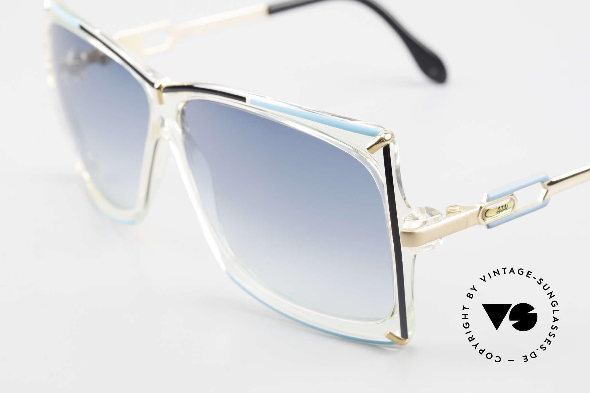 Cazal 864 Rare 80's Cazal XL Sunglasses, made around 1986 in Passau, Bavaria (W.Germany), Made for Women