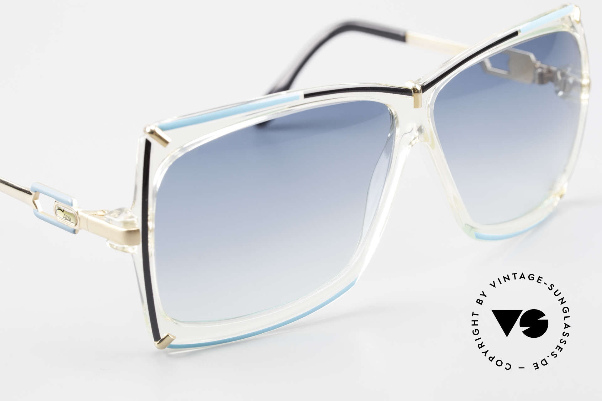 Cazal 864 Rare 80's Cazal XL Sunglasses, unworn (like all our vintage sunglasses by Cazal), Made for Women
