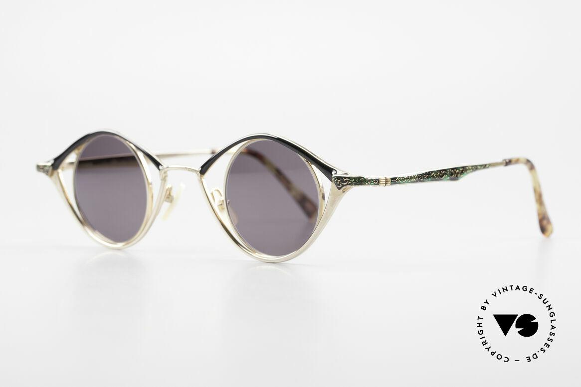 Nouvelle Ligne Q40 Vintage Ladies Sunglasses 90s, terrific ladies model of the Quintessenz Series, Made for Women