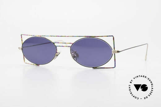 IMAGO Steel 8 Colorful Vintage Sunglasses Details