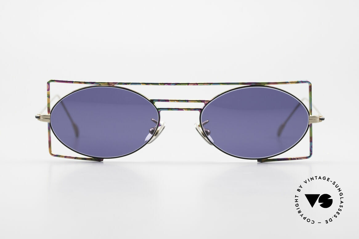 IMAGO Steel 8 Colorful Vintage Sunglasses, 'imago' is Latin for: shape, idea, imagination, vision ..., Made for Men and Women