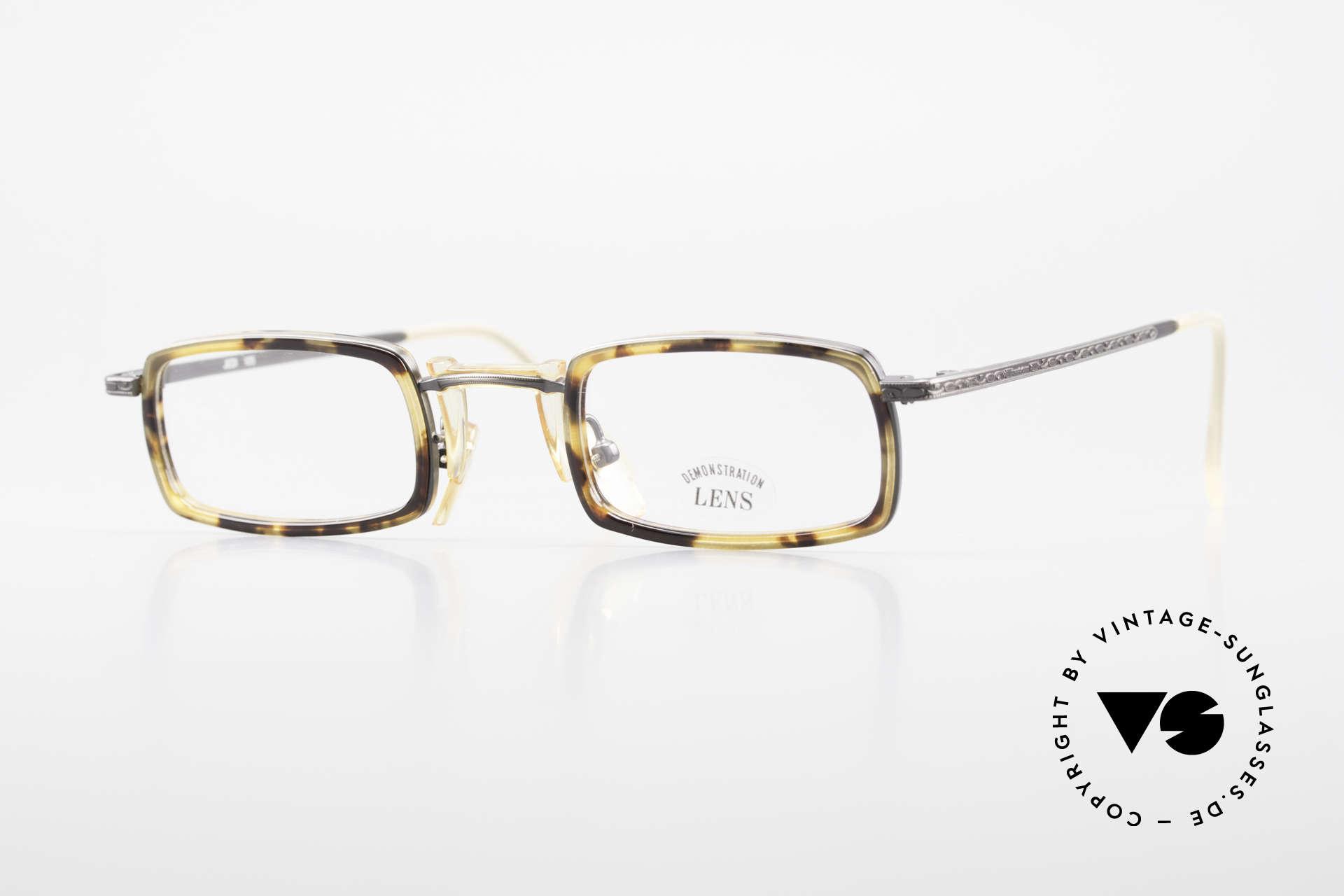 Freudenhaus Jedi Square 90's Designer Frame, vintage designer glasses by FREUDENHAUS, Munich, Made for Men and Women