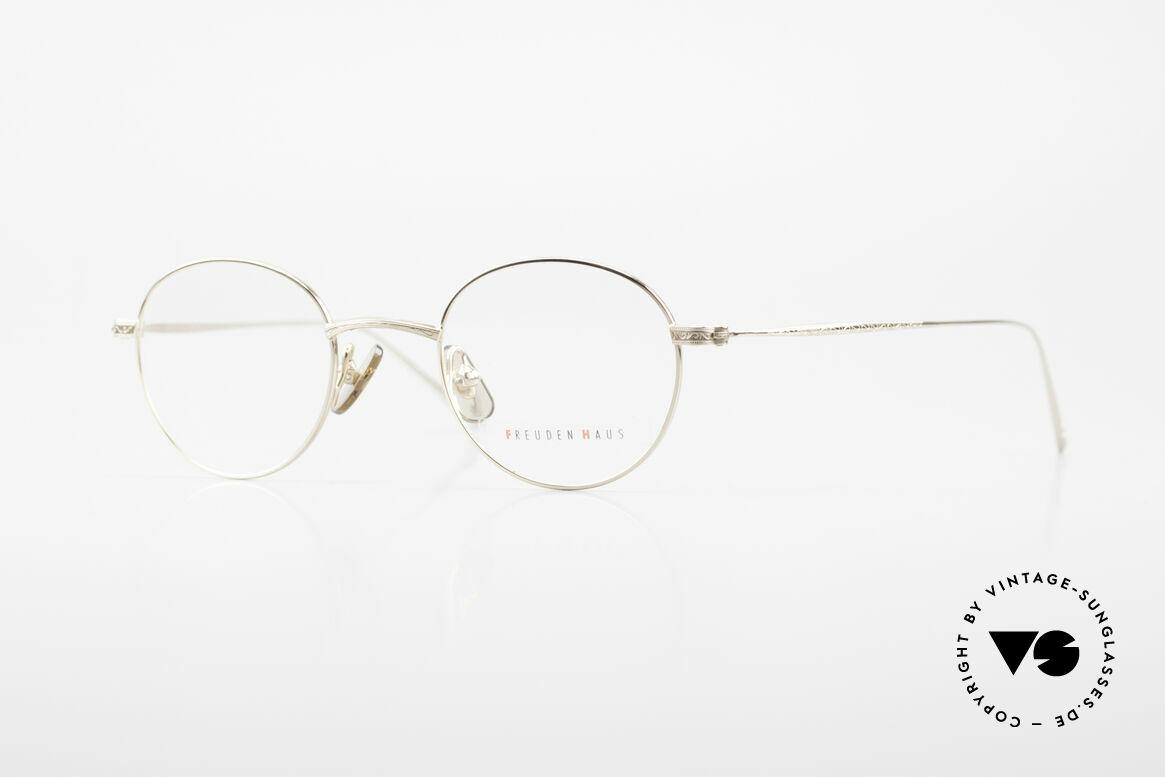 Freudenhaus Garland Small Round Designer Frame, vintage designer glasses by FREUDENHAUS, Munich, Made for Men and Women