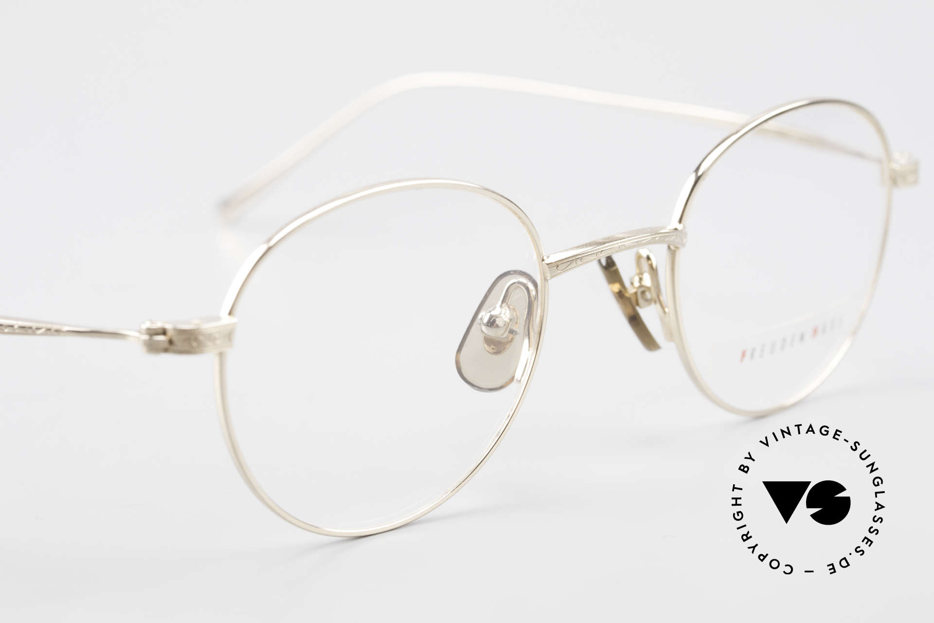 Freudenhaus Garland Small Round Designer Frame, NO RETRO fashion, but an old Original from the 90's, Made for Men and Women