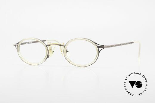 Freudenhaus Andua Oval Designer Glasses 90's Details
