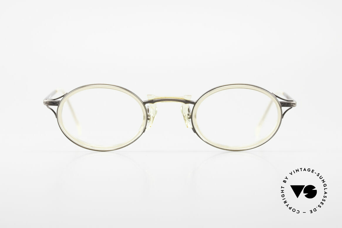 "Freudenhaus Andua Oval Designer Glasses 90's, 'Freudenhaus' means ""cathouse / house of pleasure"", Made for Men and Women"