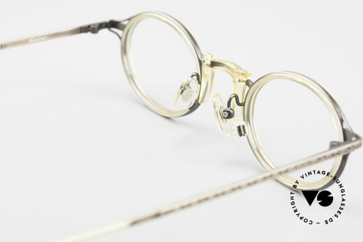 Freudenhaus Andua Oval Designer Glasses 90's, NO RETRO fashion, but an old Original from the 90's, Made for Men and Women