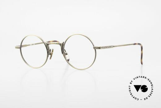 Freudenhaus Domo Round Designer Eyeglasses Details