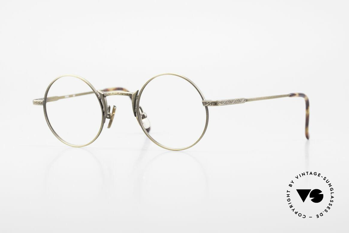 Freudenhaus Domo Round Designer Eyeglasses, vintage designer glasses by FREUDENHAUS, Munich, Made for Men
